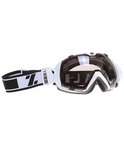 Zeal Eclipse Goggles Satin White/SPX Polarized Lens