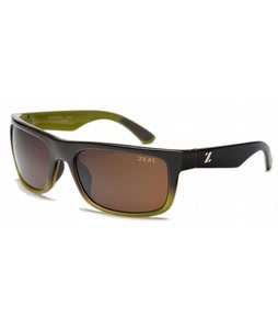 Zeal Essential Sunglasses Brown With Olive Fade/Copper Polarized Lens
