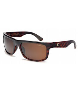 Zeal Essential Sunglasses Shiny Demi Tortoise/Copper Polarized Lens