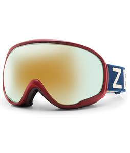 Zeal Forecast Goggles Navy & Red/Alchemy Mirror Lens