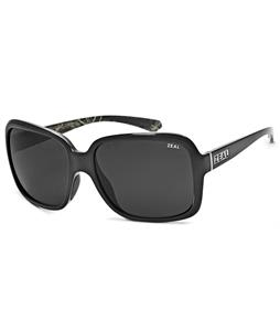 Zeal Hadley Sunglasses Black Gloss/Dark Grey Polarized Lens