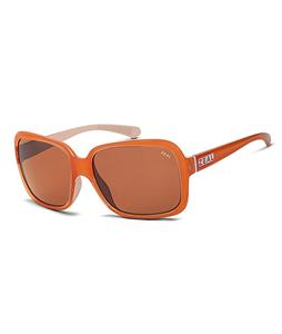 Zeal Hadley Sunglasses Peaches + Cream/Copper Polarized Lens
