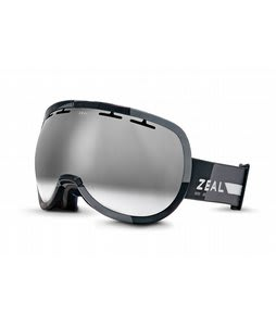 Zeal Level Goggles Supply Black/Metal Mirror Lens