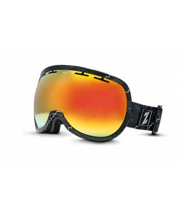 Zeal Level Goggles Henley Black/Bluebird Mirror Lens