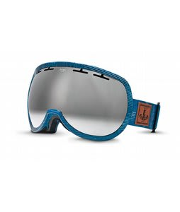 Zeal Level Goggles MADE Denim/Metal Mirror Lens