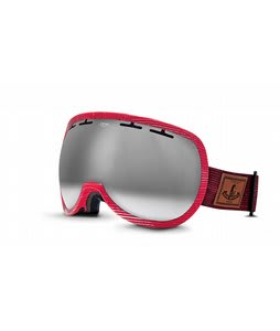 Zeal Level Goggles MADE Red Wash/Bluebird Mirror Lens