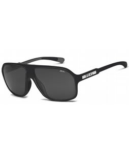 Zeal Sawyer Sunglasses Black Gloss/Dark Grey Polarized Lens