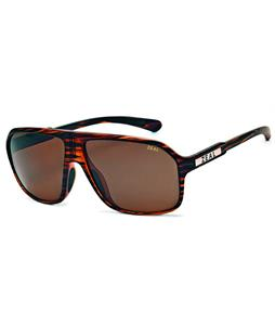 Zeal Sawyer Sunglasses Matte Wood Grain/Copper Polarized Lens