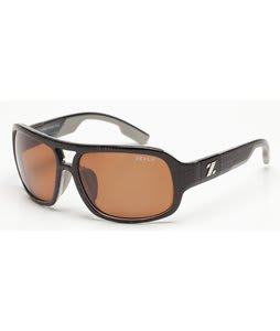 Zeal The Brody Sunglasses Black Plaid/Copper Polarized Lens