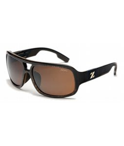 Zeal The Brody Sunglasses Brown Plaid/Copper Polarized Lens