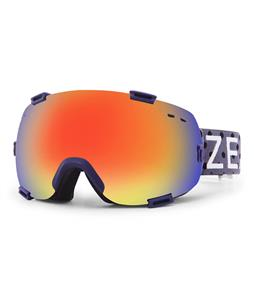 Zeal Voyager Polarized Goggles Grey/Phoenix Polarzied + Sky Blue Mirror Lens