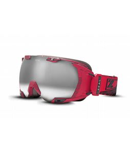Zeal Z3 GPS Goggles Quantum Red/Metal Mirror Lens