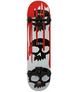 Zero 3 Skull Blood Complete Skateboard White/Black