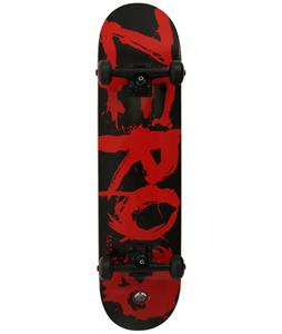 Zero Blood Complete Skateboard Black/Red