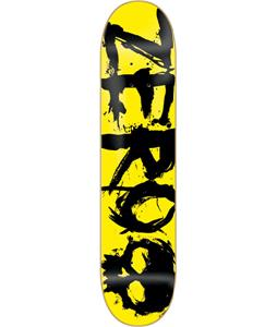 Zero Blood Negative Skateboard Yellow/Black