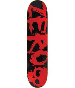 Zero Blood Red Skateboard Black/Red