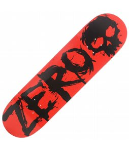 Zero Blood Negative Skateboard Red/Black 8.25