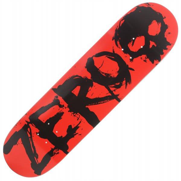 Zero Blood Negative Skateboard Deck