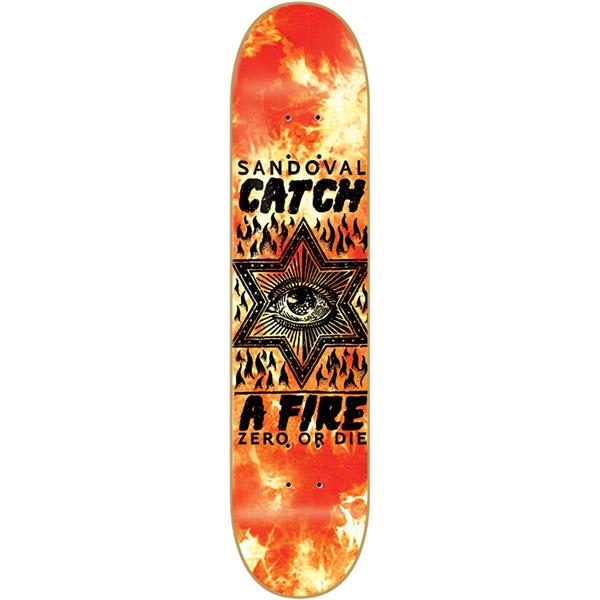 Zero Catch A Fire Sandoval Skateboard Deck