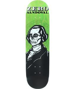 Zero Dead Presidents Sandoval Skateboard Deck