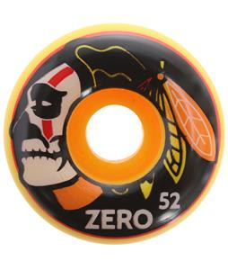 Zero Death Hawks Skateboard Wheels Yellow 51mm