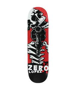 Zero Lopez Dead on Arrival Skateboard Deck