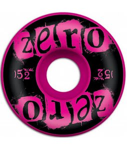 Zero Punk Pink Skateboard Wheels Pink 52mm