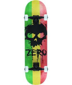 Zero Sandoval Rasta Blood Skull Skateboard Complete