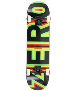 Zero Sandoval Signature Bold Complete Skateboard Red/Yellow/ Green