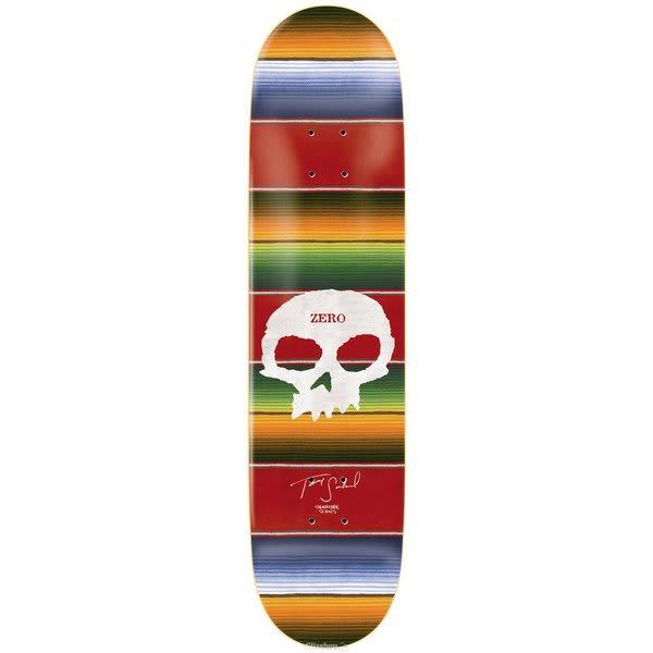 Zero Sandoval Signature Skull Skateboard