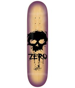 Zero Signature Blood Skull Garrett Hill Skateboard Deck