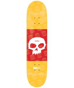 Zero Single Skull Boserio Skateboard Deck