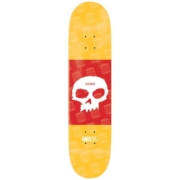 Zero Single Skull Boserio Skateboard Deck