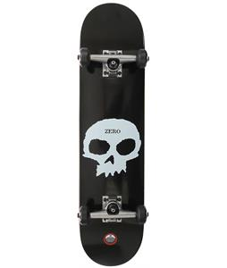 Zero Single Skull Complete Skateboard Black/White