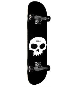 Zero Single Skull Skateboard Complete