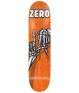Zero Skelton Hands Cervantes Skateboard Deck