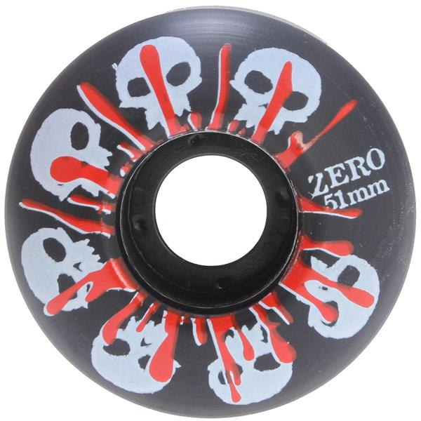 Zero Skulls w/ Blood Skateboard Wheels