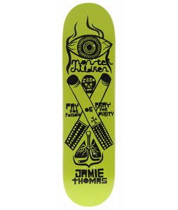 Zero Thomas Fernando Elvira Skateboard Deck Green/Black