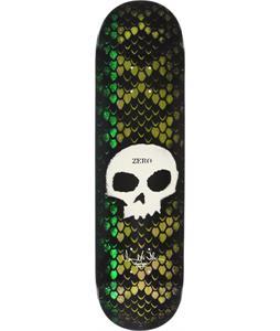 Zero Thomas Signature Skull Stencil Skateboard Deck