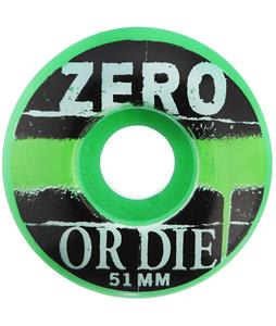 Zero Vandal Skateboard Wheels Green 51mm