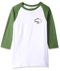 Volcom War Shack 3/4 Sleeve Raglan