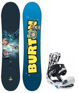 Burton Chopper Toy Story Snowboard with Burton Mission Smalls Snowboard Bindings
