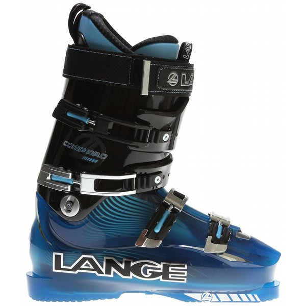 Lange Comp Pro Ski Boots Black / Blue U.S.A. & Canada