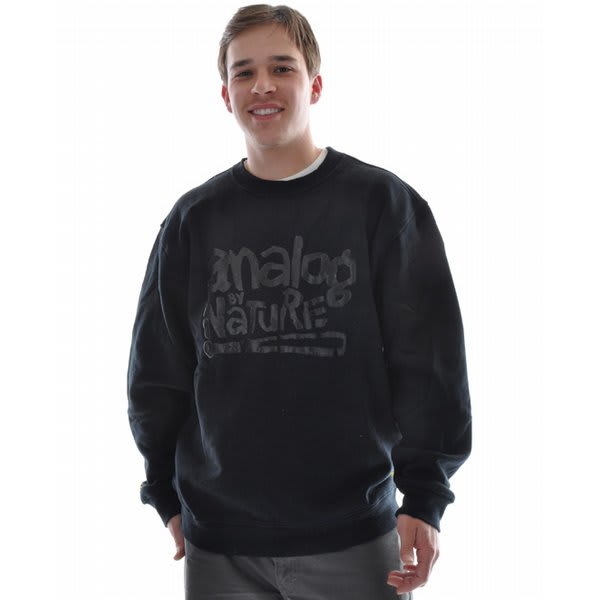 Analog Ill Nature Crew Sweatshirt True Black U.S.A. & Canada