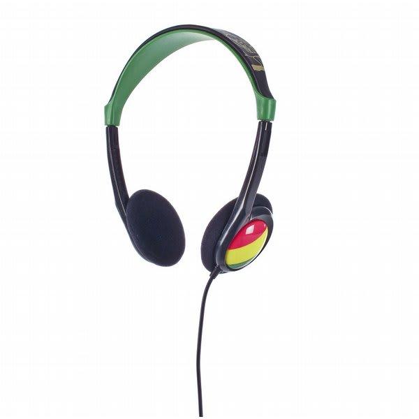 2Xl Grid Headphones Rasta U.S.A. & Canada
