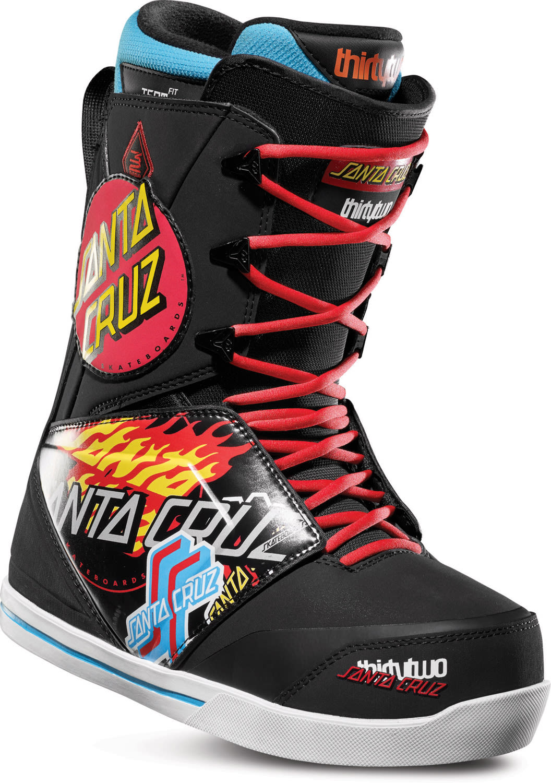 32 Thirty Two Santa Cruz Lashed Snowboard Boots 2019