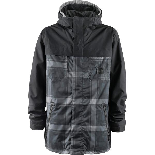 Foursquare Recoil Snowboard Jacket Backwoods Print / Blacktop U.S.A. & Canada