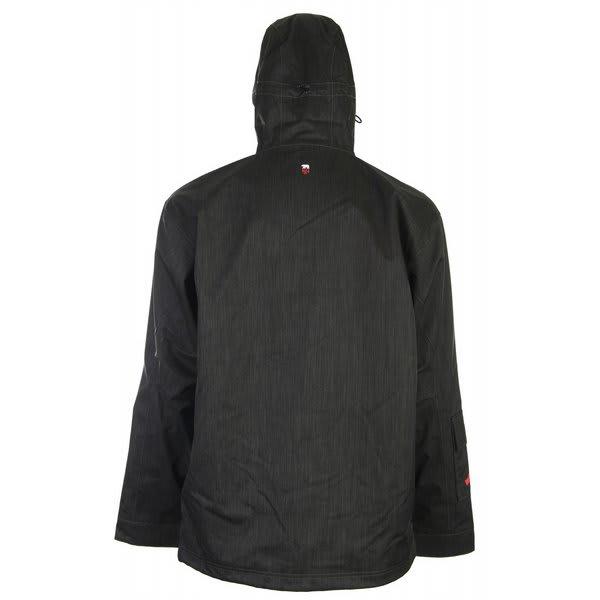 Foursquare wright snowboard jacket black dress
