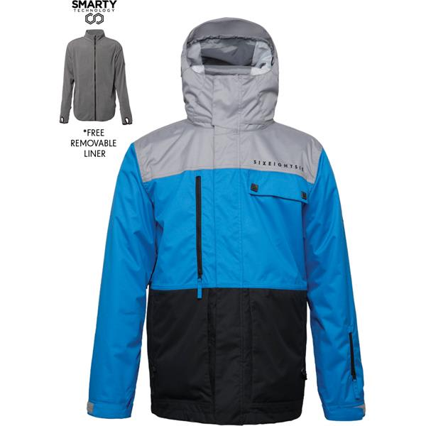 686 Authentic Smarty Form Snowboard Jacket Read 1 Review Or Write A Click To Enlarge