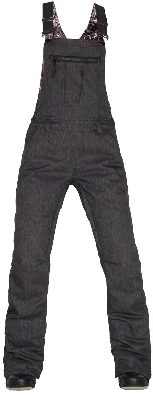 686 Black Magic Overall Bib Snowboard Pants